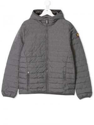 Zipped padded jacket Ciesse Piumini Junior. Цвет: серый