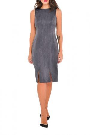 Платье MONDIGO. Цвет: темно-серый