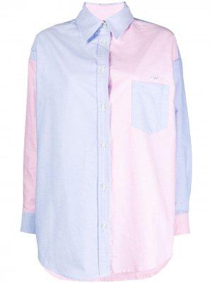 Рубашка в двух тонах Forte Dei Marmi Couture. Цвет: розовый