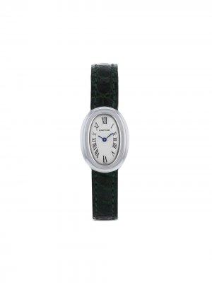 Наручные часы Baignoire pre-owned 25 мм 1990-го года Cartier. Цвет: нейтральные цвета