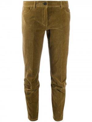 Зауженные брюки Jefferson Ann Demeulemeester. Цвет: зеленый