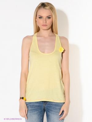 Топ American Outfitters. Цвет: желтый