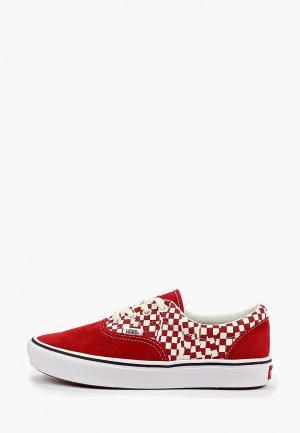 Кеды Vans. Цвет: красный