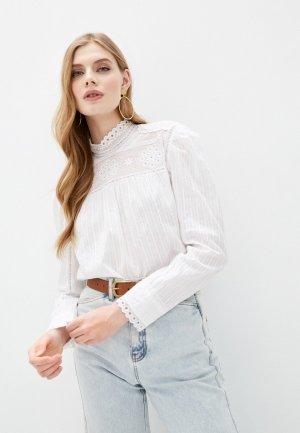 Блуза Escada Sport. Цвет: белый