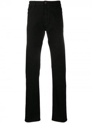 Прямые джинсы The Row. Цвет: черный
