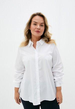 Рубашка Persona by Marina Rinaldi. Цвет: белый