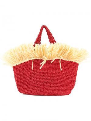 Пляжная сумка Malibu 0711. Цвет: красный