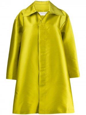 MarquesAlmeida пальто оверсайз на пуговицах Marques'Almeida. Цвет: зеленый