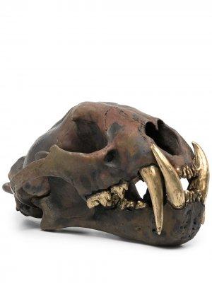 Декоративная фигурка в форме черепа леопарда Parts of Four. Цвет: коричневый