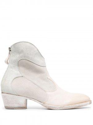 Ковбойские ботинки MOMA. Цвет: нейтральные цвета