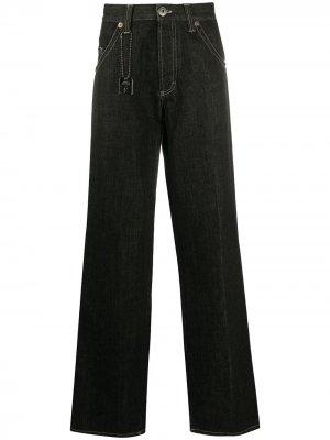 Широкие джинсы 1990-х годов Gianfranco Ferré Pre-Owned. Цвет: черный
