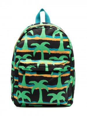 Рюкзак с принтом Stella McCartney Kids. Цвет: черный
