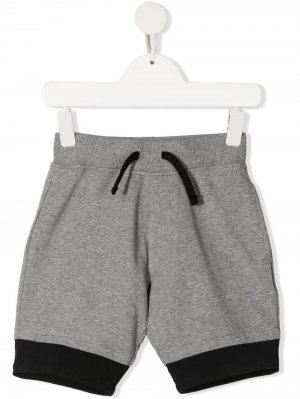 Спортивные шорты с принтом yporqué. Цвет: серый