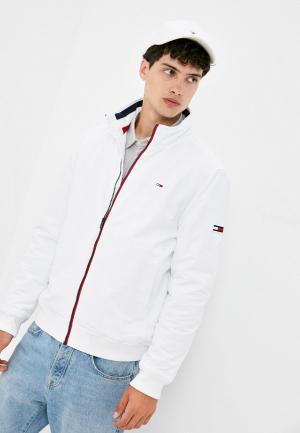 Куртка утепленная Tommy Jeans. Цвет: белый