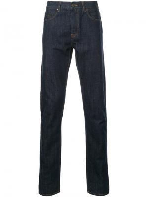 Зауженные джинсы Kent & Curwen. Цвет: синий