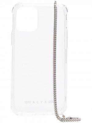 Чехол для телефона iPhone 11 Pro с цепочкой 1017 ALYX 9SM. Цвет: нейтральные цвета