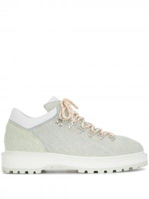 Ботинки Monfumo на шнуровке Diemme. Цвет: серый