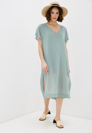 Платье Miss by Valentina. Цвет: бирюзовый