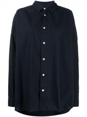 Рубашка со съемной шляпой AMBUSH. Цвет: синий