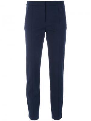 Укороченные брюки Vanner Tory Burch. Цвет: синий