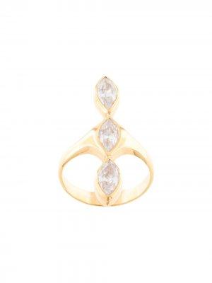 Кольцо Nyiri с камнями Niomo. Цвет: золотистый