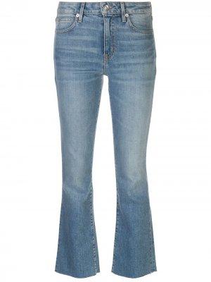 Расклешенные джинсы с завышенной талией Slvrlake. Цвет: синий