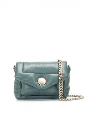 Мини-сумка Harris Proenza Schouler. Цвет: синий
