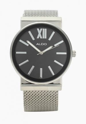 Часы Aldo. Цвет: серебряный