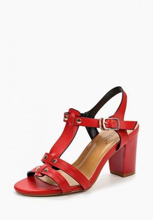 Босоножки Vivian Royal. Цвет: красный