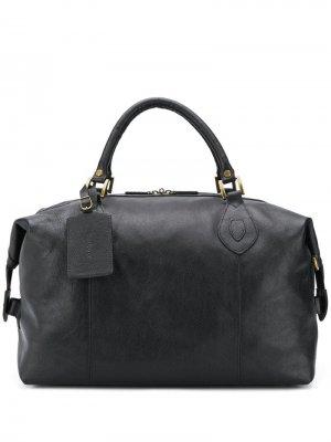 Дорожная сумка Travel Explorer Barbour. Цвет: черный