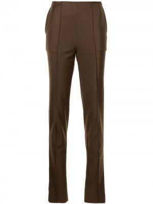 Расклешенные брюки Materiel. Цвет: коричневый