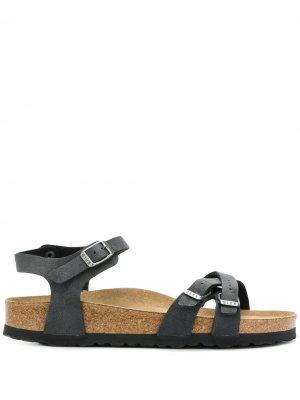 Rio sandals Birkenstock. Цвет: черный
