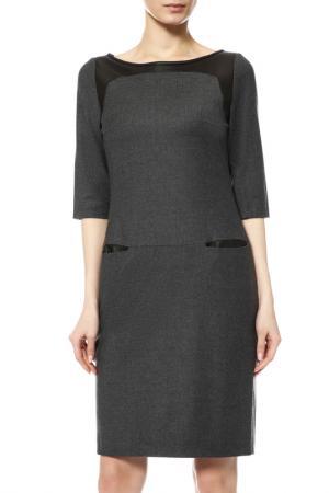 Платье SONIA BOGNER. Цвет: серый