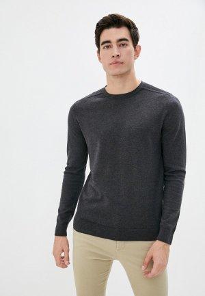 Джемпер Selected Homme. Цвет: серый