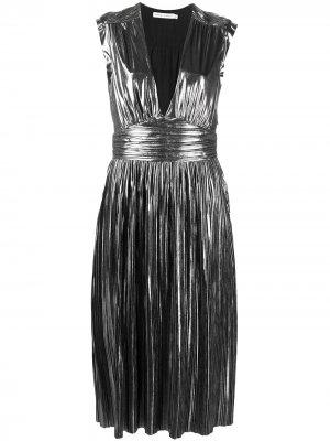 Платье Briella без рукавов Rebecca Minkoff. Цвет: серебристый