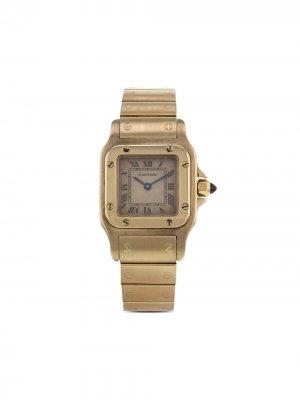 Наручные часы Santos pre-owned 24 мм 1990-х годов Cartier. Цвет: нейтральные цвета
