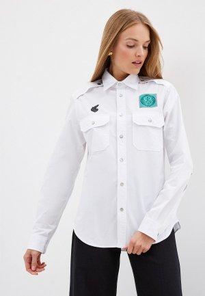 Рубашка Vivienne Westwood Anglomania. Цвет: белый