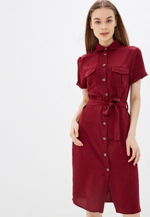 Платье Brave Soul. Цвет: бордовый
