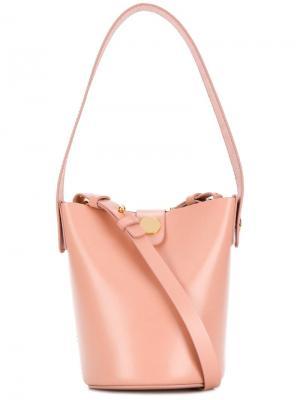 Маленькая сумка на плечо Sophie Hulme. Цвет: нейтральные цвета