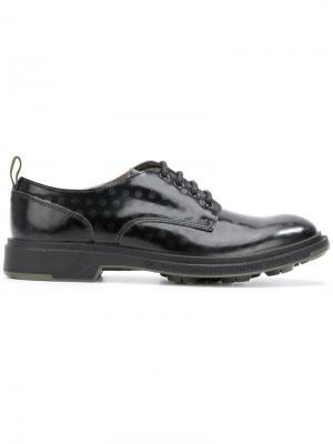 Туфли Дерби в горошек Pezzol 1951. Цвет: черный