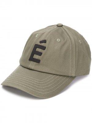 Кепка с вышитым логотипом Etudes. Цвет: зеленый