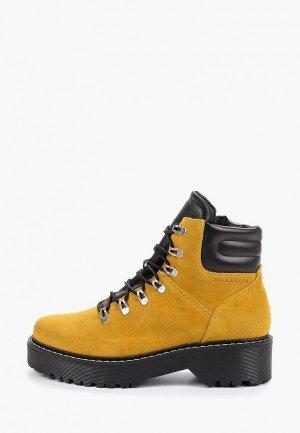 Ботинки Bullboxer. Цвет: желтый