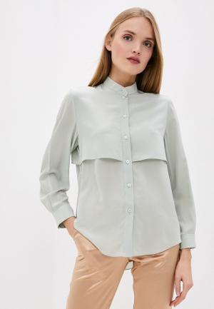 Блуза Emporio Armani. Цвет: зеленый