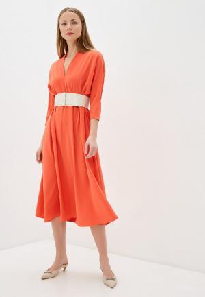 Платье Imperial. Цвет: коралловый