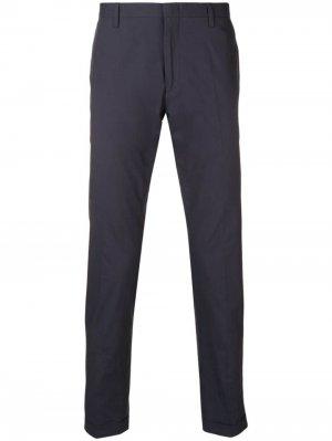 Классические брюки кроя слим Paul Smith. Цвет: синий