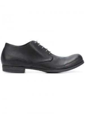 Ботинки-дерби Kudu A Diciannoveventitre. Цвет: черный