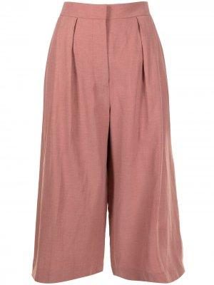 Укороченные брюки Cooley Altuzarra. Цвет: розовый