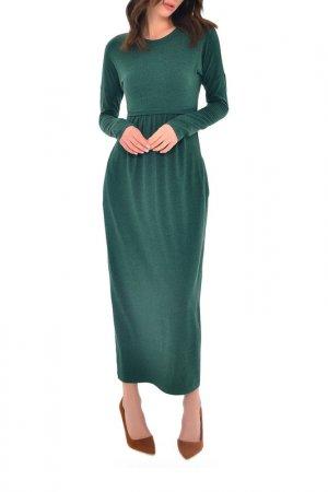 Платье MONDIGO. Цвет: зеленый