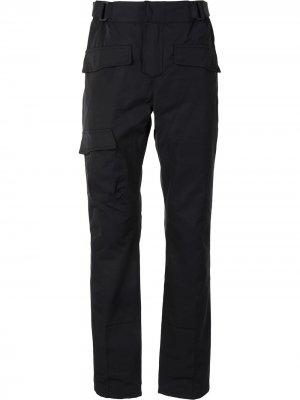 Прямые брюки RtA. Цвет: черный