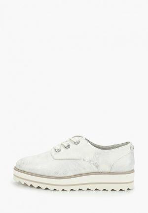 Ботинки Tamaris. Цвет: серебряный